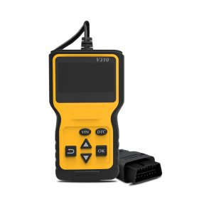 New V310 Car Diagnostic Scanner Tool Portable Handheld OBDII CAN OBD2 Erases Trouble Clear DTC Code Reader Scan Tool
