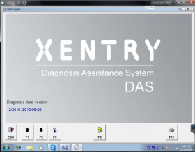 2018.12 Xentry Mercedes Software HDD/SSD 2018.12V SD C4 Xentry Das Software WIN7 32bit Installed