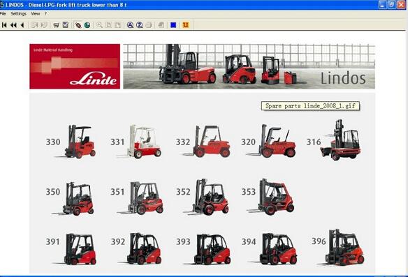 Linde Forklift Trucks EPC