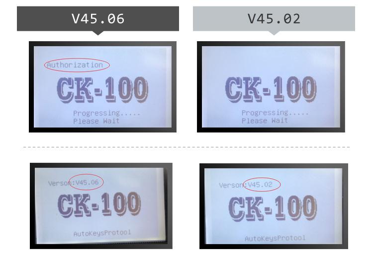 V45.06 CK100 Key programmer