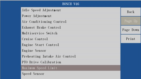VDSA HD ECU Truck Diagnosis