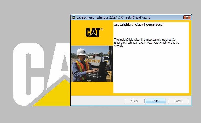 Latest Cat Caterpillar Electronic Technician ET 2018A V1 0