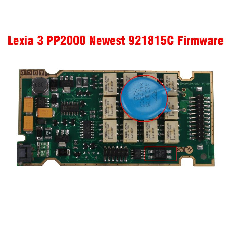 Lexia 3 PCB Board: