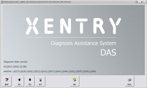 Supplier For mercedes das xentry 12/2015 For star c3 SD connect C4 any PC