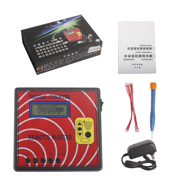Supplier Digital counter remote master Car remote control duplicator