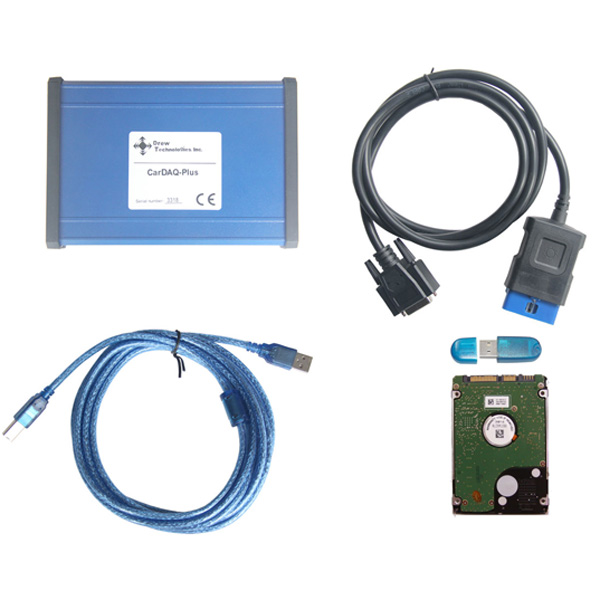 Supplier CarDAQ-PLUS J2534 VCI Cardaq plus pass-through j2534-1 j2534-2