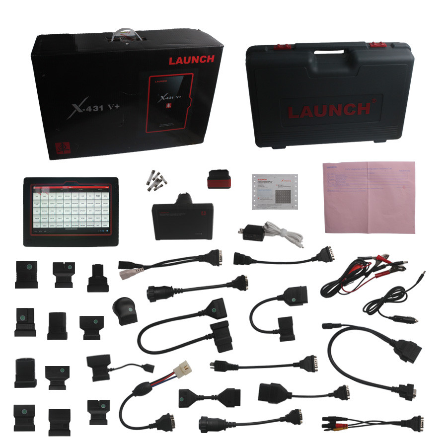 Supplier Launch X431 V+ Wifi/Bluetooth Global Version Two Years Free Update Online