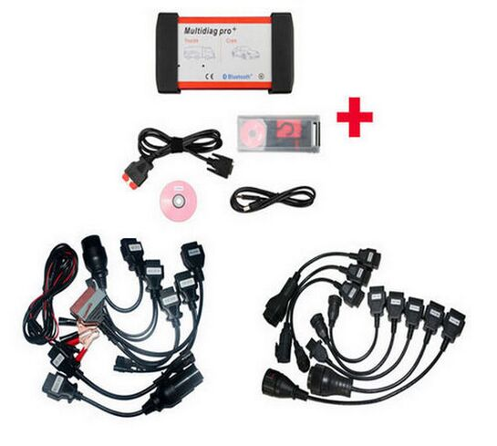 Supplier Bluetooth Multidiag Pro+ 2014.3 Multidiag Pro+ car trucks cables