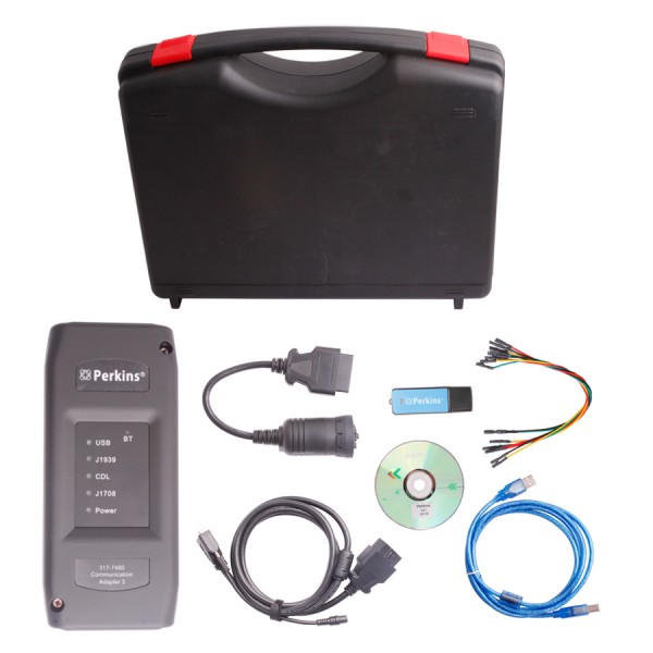 Supplier Bluetooth Perkins EST Interface V2012B Perkins EST Diagnostic