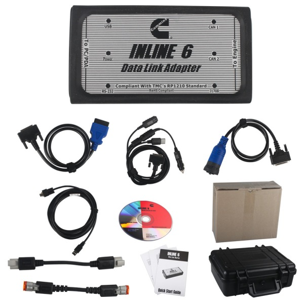 Supplier Cummins INLINE 6 Data Link Adapter Cummins insite 8.0 keygen