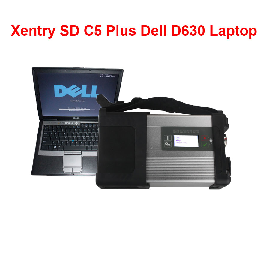 Supplier 2018.9 Xentry Connect C5 Mercedes star diagnosis c5 with Dell D630 Laptop