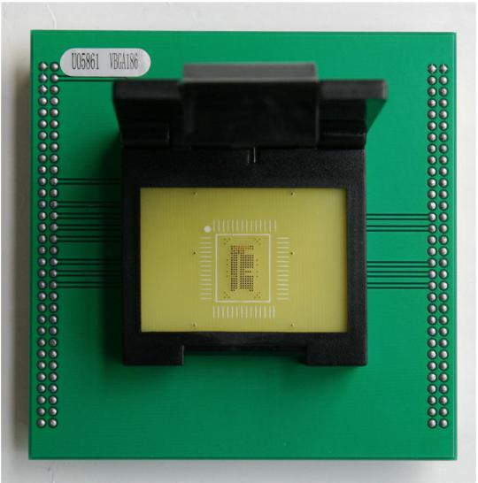 Supplier VBGA 186P Socket For UP828P UP-828P Smartphones VBGA 186P Adapte