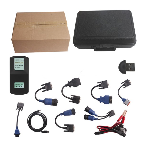 Supplier Diesel Truck scanner Bluetooth VXSCAN H90 J2534 for diesel truck