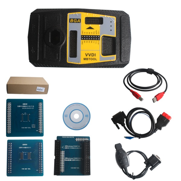 VVDI MB BGA Tool VVDI Mercedes V2.1.1 Xhorse VVDI key programmer With BGA Calculator function