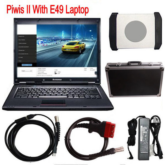 Supplier Piwis ii tester for Porsche piwis 2  with LENOVO E49 laptop installed V18.150.500  porsche piwis software HDD