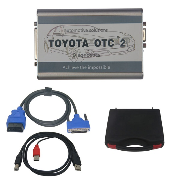 Supplier Fly Toyota OTC 2 scan tool for Toyota and Lexus diagnois and programming Toyota OTC ii with TIS Toyota Techstream v11.00.017 software