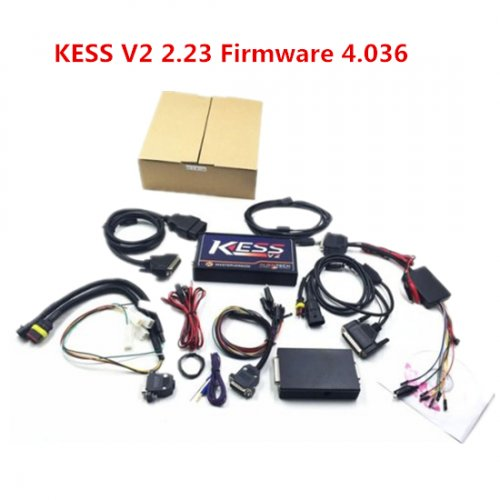 V2.23 Kess v2 master Version China Kess v2 2.23 clone With K-suite 2.23 software Kess 4.036 Firmware