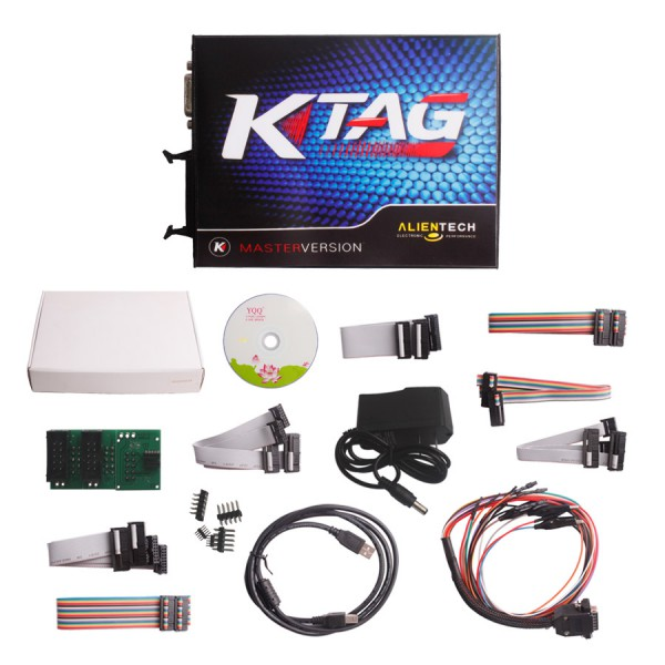 Supplier K tag ecu tuning V2.11 k-tag master Clone Ktag firmware V6.070 with Renew button for unlimited tokens