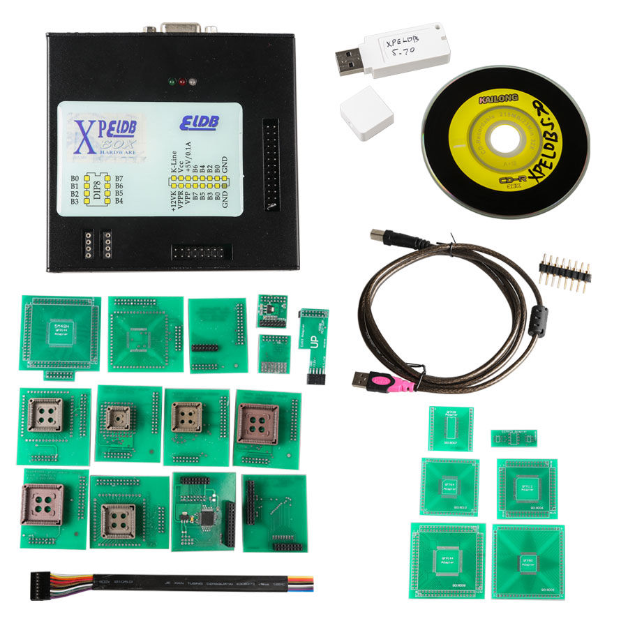 Xprog 5.70 Auto ecu programmer Xprog m box 5.70 with Xprog 5.70 download software support windows 7 system