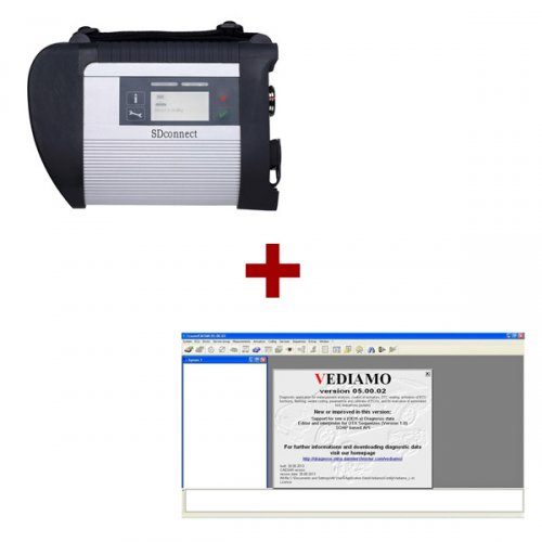 Supplier Mercedes multiplexer c4 Star diagnosis compact 4 + Mercedes vediamo scn coding Vediamo V5.05 software
