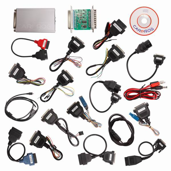 Supplier Newest Carprog V10.05 Carprog 10.05 Carprog Full Support Airbag Reset Function Well