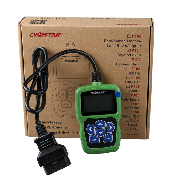 OBDSTAR F101 Toyota smart key programming OBDSTAR F101 with Toyota Immobilizer reset tool support G Chip