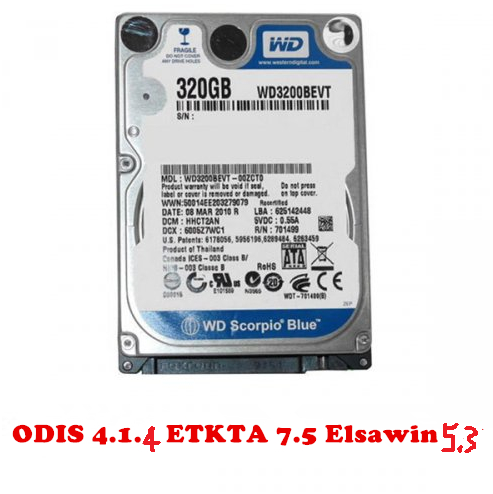 Vas 5054A Odis Latest 4.1.4 Software with Engineer 6.75 ETKA 7.5 and Elsawin 5.3  VAG ODIS 4.1.4 Software