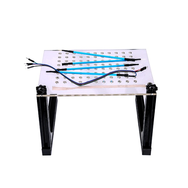 Supplier 2017 New LED BDM Frame with 4 Probes Mesh Full Kit for Kess/ Ktag/ Fgtech /BDM100 ECU Programmer