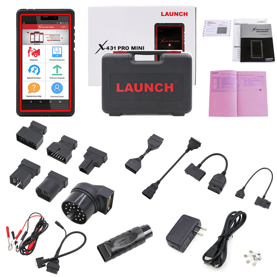 Supplier Launch X431 Pro Mini Bluetooth With 2 Years Free Update Online Powerful Than Diagun