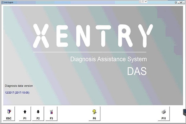Supplier Mercedes Star diagnosis software Win 7 MB Star C4 SD Connect das XENTRY 2017.12