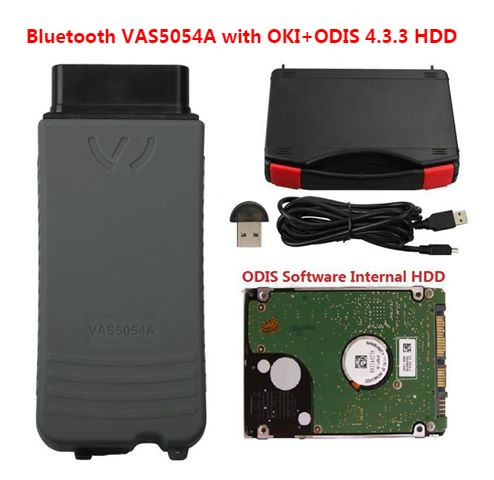 Best Quality Vas 5054A with Odis Latest 4.4.1 HDD Software with vw audi skoda Engineer 8.2.3 ETKA 8.1 and Elsawin 6.0 VAG ODIS 4.4.1 Software
