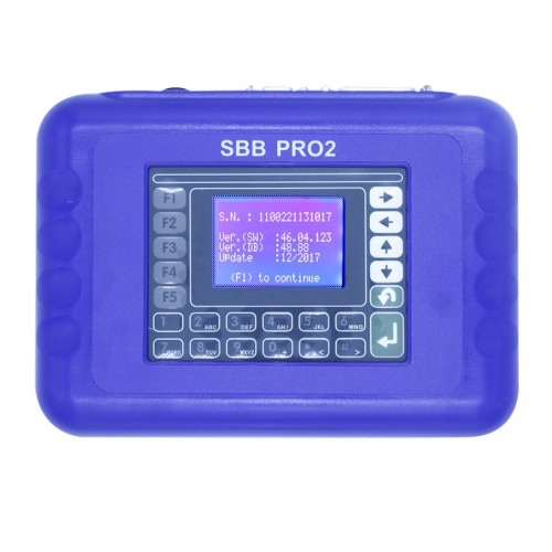 Supplier V48.88 SBB Pro2 Key Programmer Support Cars to 2017 Replace SBB 46.02