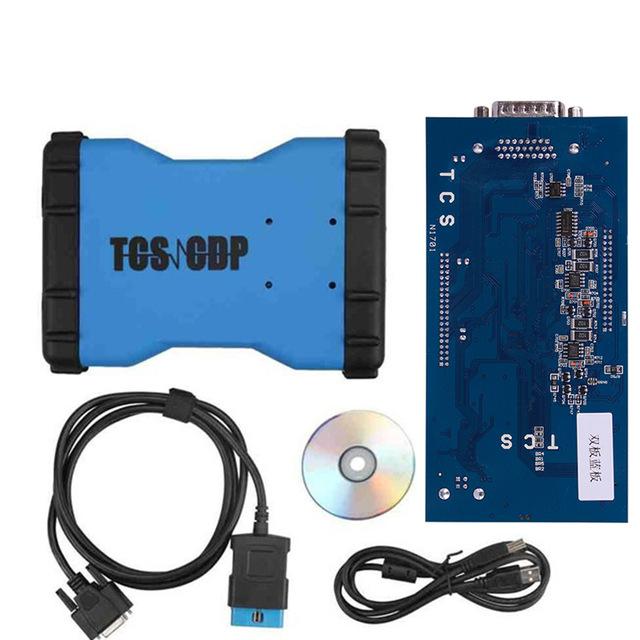 2014.02V TCS CDP For Cars/Trucks TCS CDP Pro+ Diagnostic Tools with Bluetooth