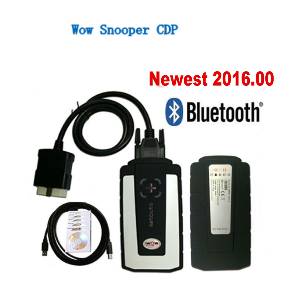 WoW SNOOPER Bluetooth VCI New Design CDP+ for Cars/Trucks