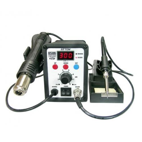 Atten at8586 rework station Atten 8586 soldering instrument