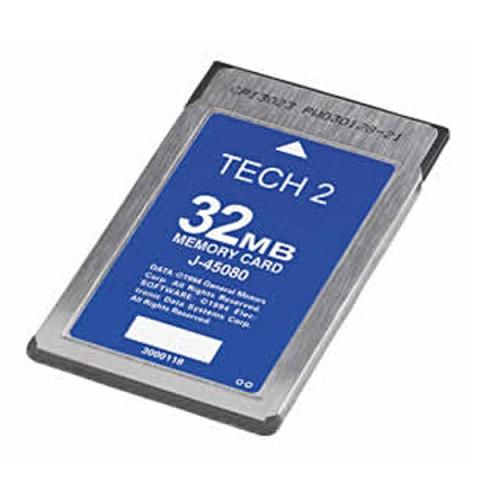 Supplier Tech 2 ISUZU card ISUZU 32mb card for gm tech2