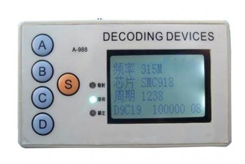 Wireless Remote control Detector
