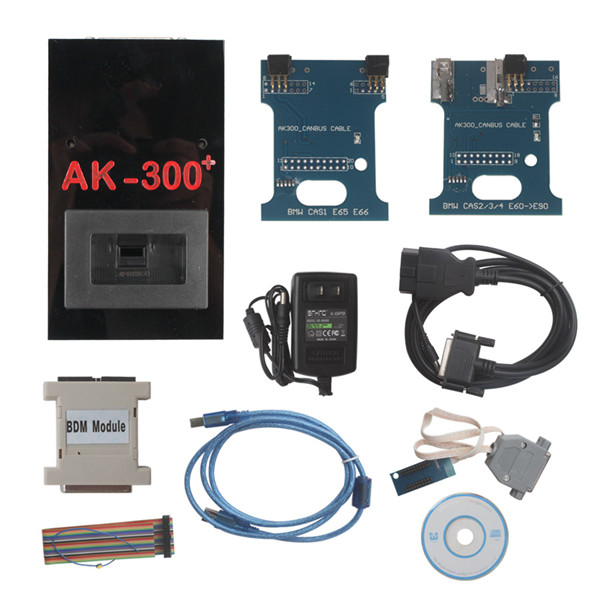 Supplier AK300+ bmw cas key maker V1.50 AK-300+ key programmer for BMW