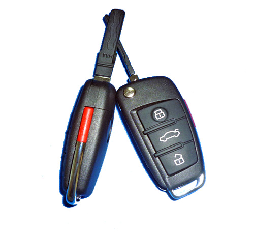 Supplier For Audi A6L Remote key 315mhz 433mhz Self Copy remote control