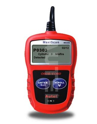 Supplier Autel Maxiscan MS309 obd2 scan tool MS309 code scanner reader