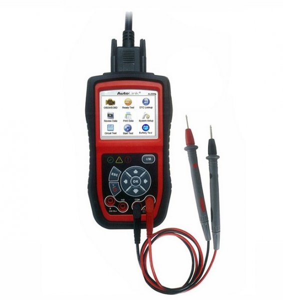 Supplier Autel AL539B scanner AutoLink AL539B OBDII Electrical Test Tool