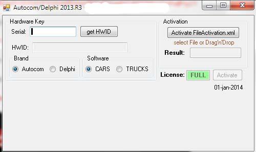 Активатор Делфи 2013,3 autocom obdiirepair AUTOCOM CDP ДЕЛФИ 2013,3 Keygen