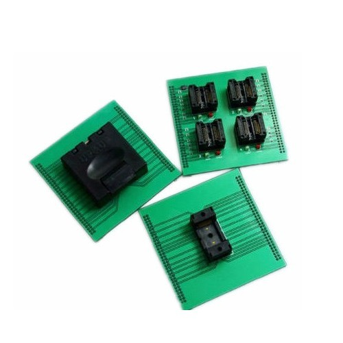 BGA127 ic chip socket for up818 up828 BGA127 socket adapter