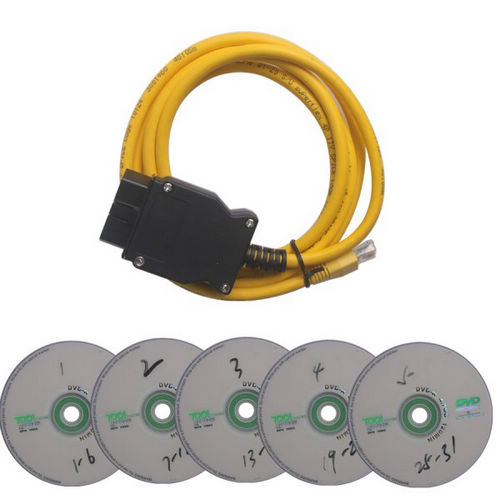 Supplier ENET lines Ethernet to OBD2 Cable For BMW ENET data cable