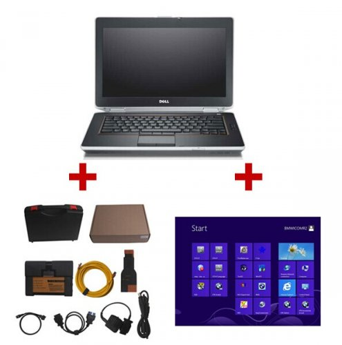 Supplier High Quality  BMW ICOM A2+B+C with Dell E6430 installed icom win7 2018.7 software Ready to Use