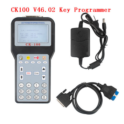 CK100 V46.02 key programmer 46.02 CK 100 auto key programming with 1024 Ck-100 tokens