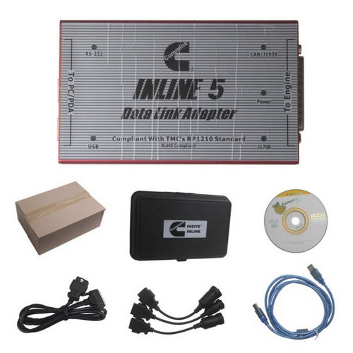 Cummins inline 5 date link adapter Cummins inline 5 insite 7.62 interface