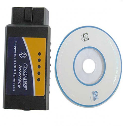 ELM327 bluetooth obd2 scan tool ELM327can bus interface
