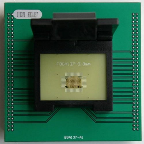 FBGA137 test socket for up818 up828 FBGA137 programming adapter