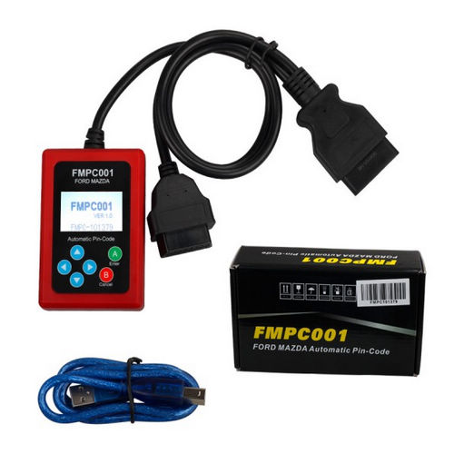 Supplier FMPC001 Ford/Mazda INCODE Calculator V1.7 FMPC001 pin reader